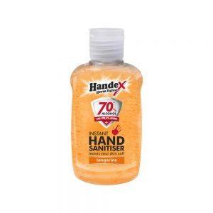 Shield Chemicals Handex Hand Sanitizer 75ml Tangerine