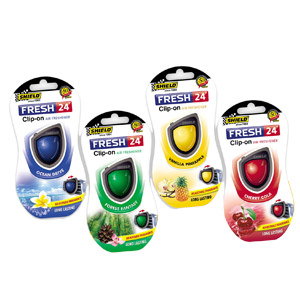 Shield Fresh 24 Clip On Air Fresheners