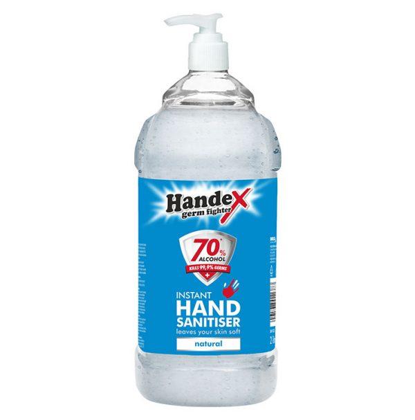 Handex 70% Alcohol Instant Hand Sanitiser – 2litre