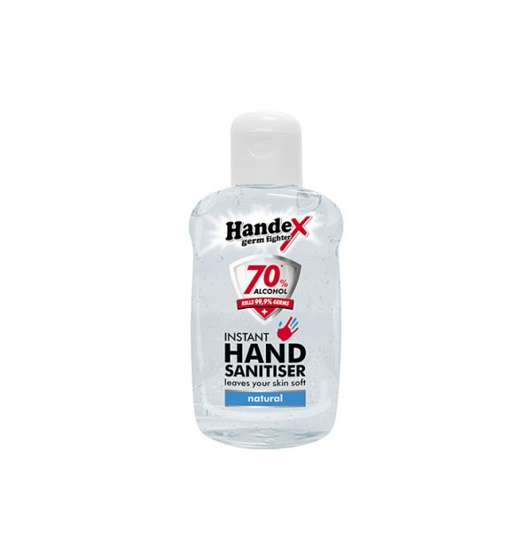 Handex 70% Alcohol Instant Hand Sanitiser – 75ml