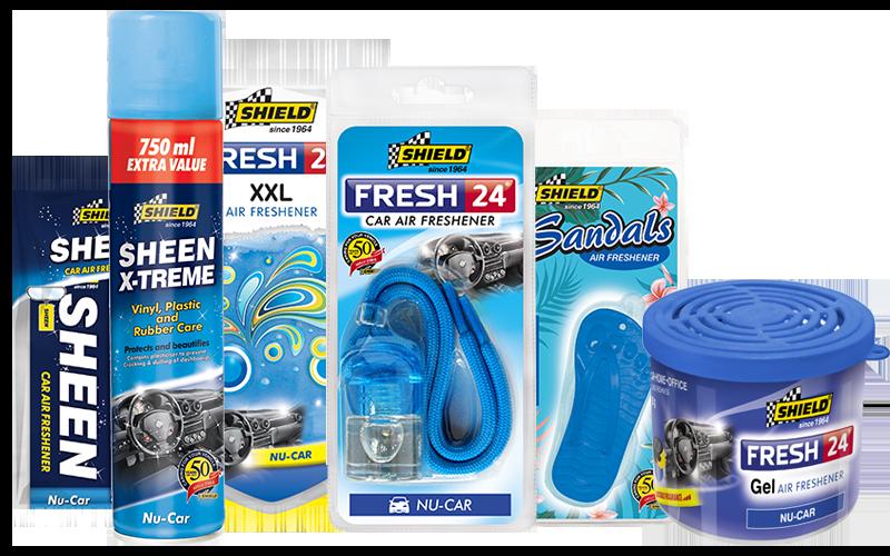 Nu Car Air Freshener Fragrance Range | Shild