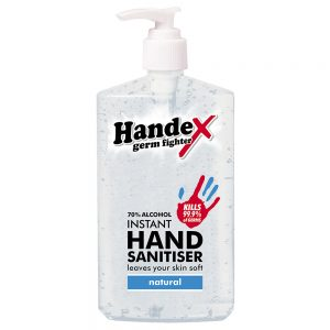 Handex 70% Alcohol Instant Hand Sanitiser – 300ml