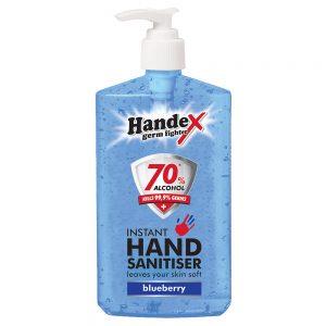 Shield Chemicals Handex Hand Sanitizer 300ml Blueberry
