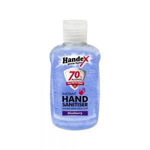 Shield Chemicals Handex Hand Sanitizer 75ml Blueberry