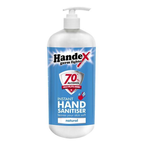 Handex Hand Sanitiser Dispenser Stand Refill – 1litre