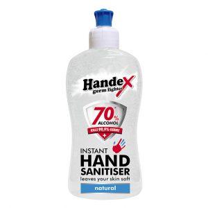 Handex 70% Alcohol Instant Hand Sanitiser – 1litre