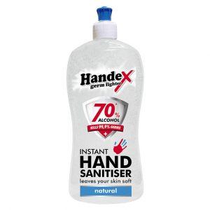 Handex 70% Alcohol Instant Hand Sanitiser – 500ml