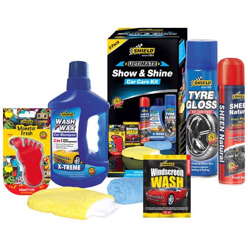 Shield Show & Shine Car Care Kit