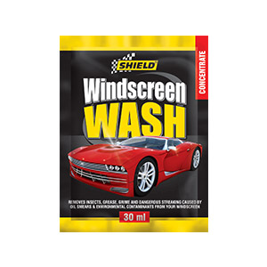Windcreen Wash Sachet Shield