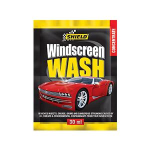 Windcreen Wash Sachet Shield
