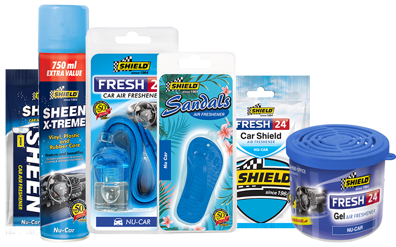 Shield Car Air Fresheners | Nu Car