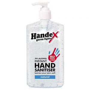 Handex 70% Alcohol Instant Hand Sanitiser – 300ml